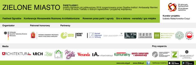 Projekt Zielone Miasto maj-listopad 2016