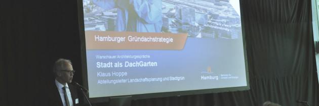 Strategia zielonych dachów miasta Hamburg – wywiad
