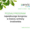 Znamy już program  Kongresu ENVICON Environment 2018!